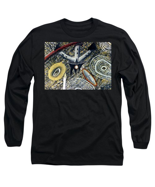 Merkavah Castle Long Sleeve T-Shirt by Luke Galutia