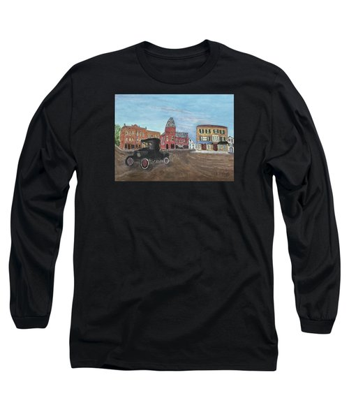 Old New England Town Long Sleeve T-Shirt