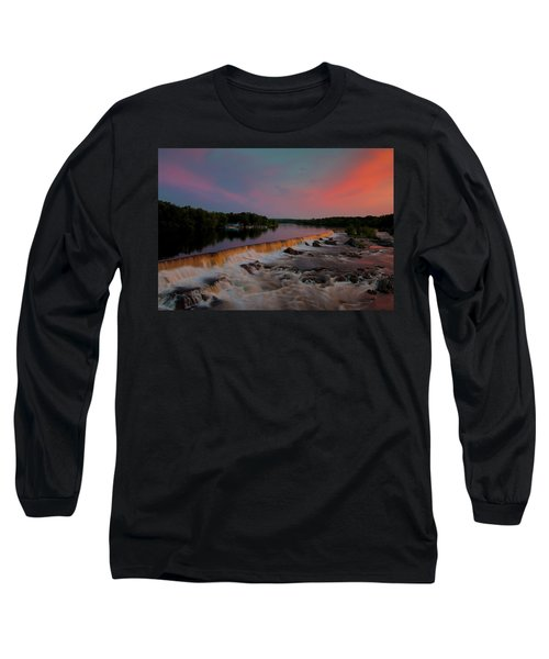 Merrimack River Falls Long Sleeve T-Shirt