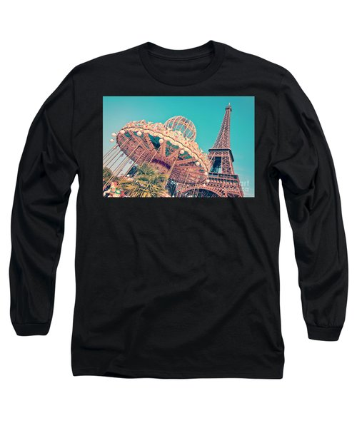 Merry Go Paris Long Sleeve T-Shirt