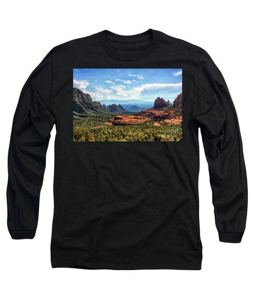 Merry Go Round Arch, Sedona, Arizona Long Sleeve T-Shirt