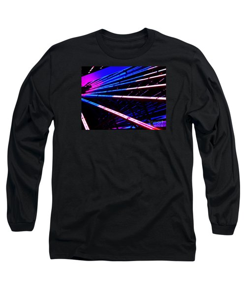 Long Sleeve T-Shirt featuring the photograph Merrygoround by Vanessa Palomino