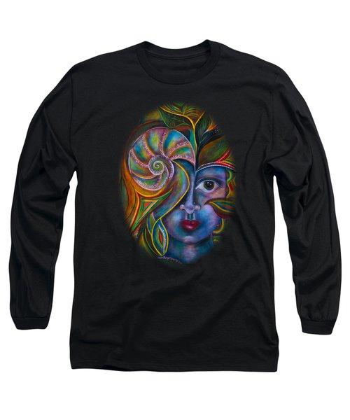 Mesmerize Long Sleeve T-Shirt by Deborha Kerr