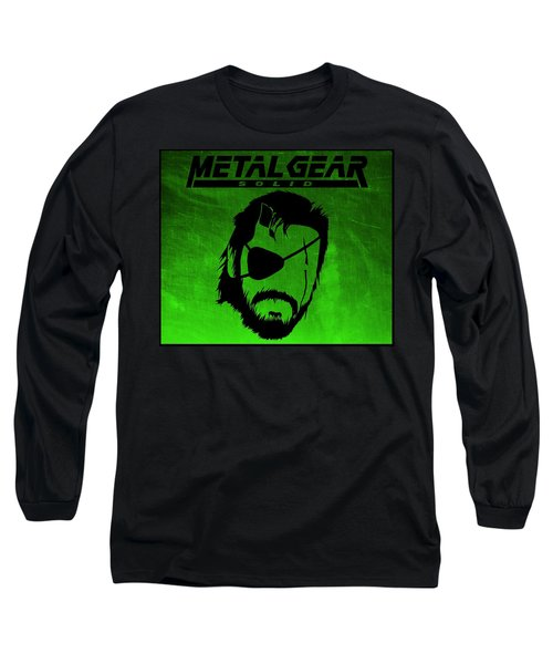 Metal Gear Solid Long Sleeve T-Shirt by Kyle West