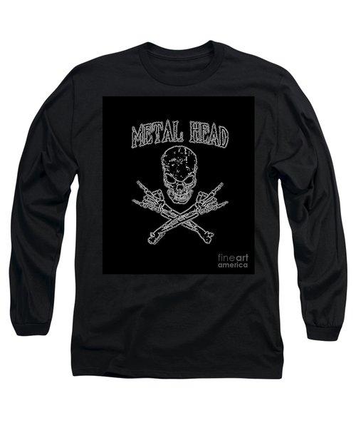 Metal Head Long Sleeve T-Shirt