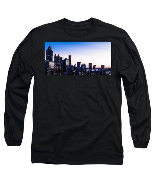 Metallic Sunset Long Sleeve T-Shirt