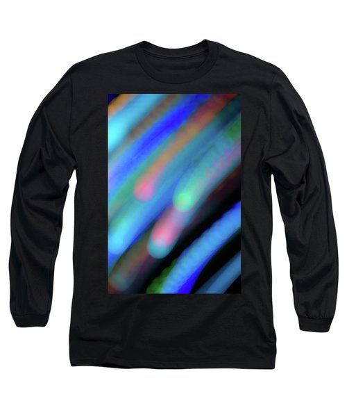 Long Sleeve T-Shirt featuring the photograph Meteor Storm by Shara Weber