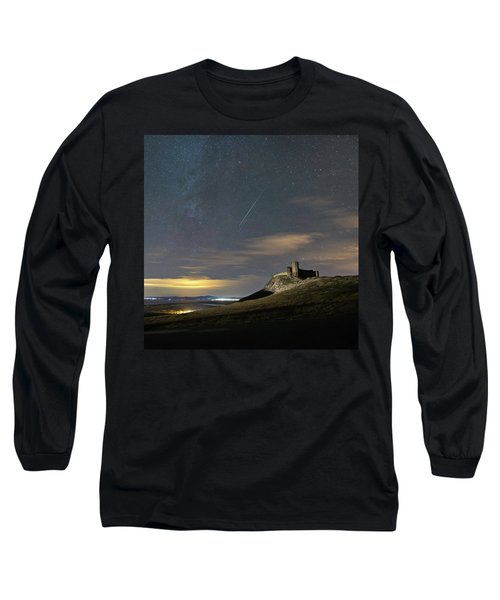 Meteors Above The Fortress Long Sleeve T-Shirt