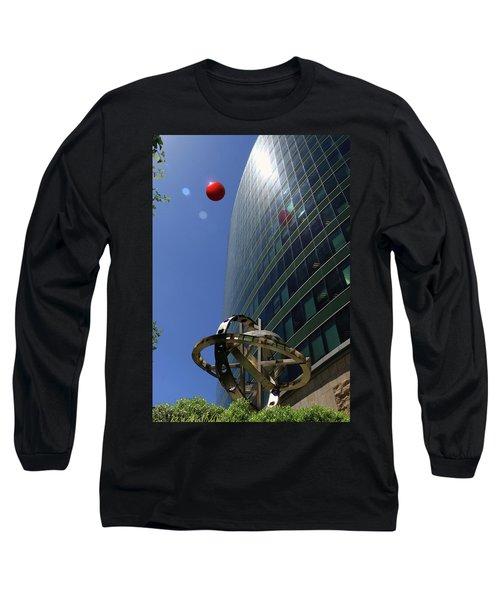Long Sleeve T-Shirt featuring the photograph Metropolitan Stranger by Christopher McKenzie