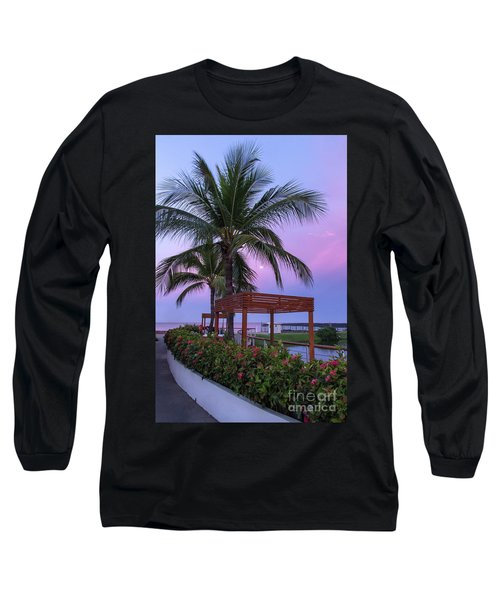 Mexican Moonrise Mexican Art By Kaylyn Franks Long Sleeve T-Shirt