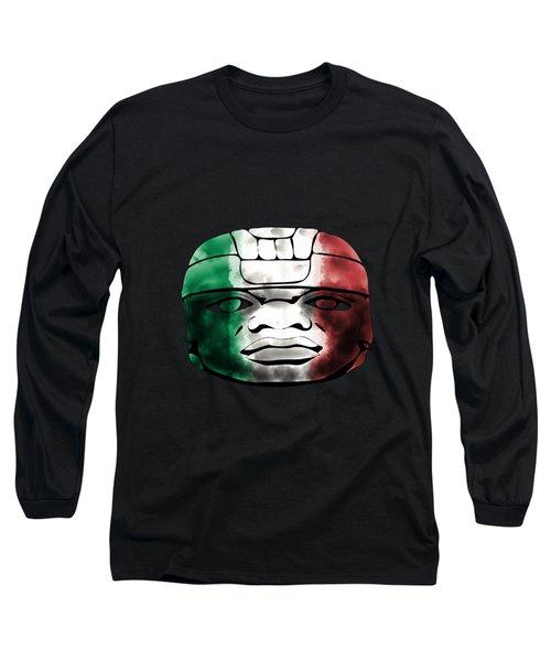 Mexican Olmec Long Sleeve T-Shirt