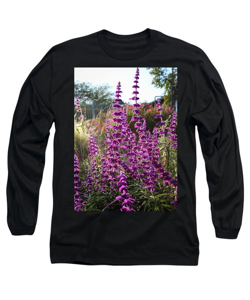 Mexican Sage Long Sleeve T-Shirt