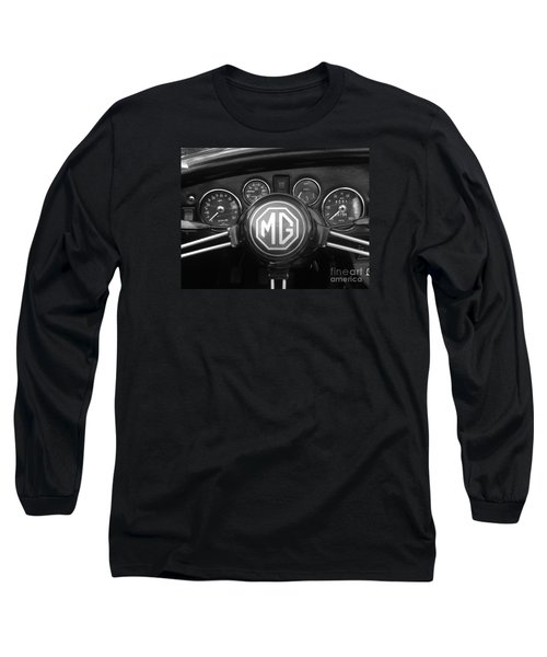 Mg Midget Dashboard Long Sleeve T-Shirt