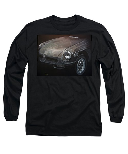 Mgb Rubber Bumper Front Long Sleeve T-Shirt