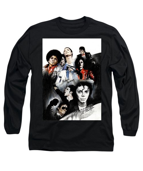 Michael Jackson - King Of Pop Long Sleeve T-Shirt