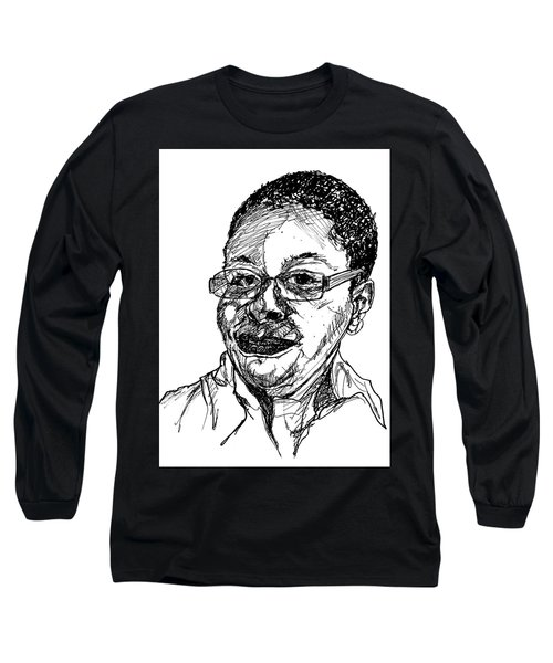 Michelle Caricature Long Sleeve T-Shirt