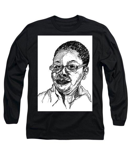 Michelle Caricature Long Sleeve T-Shirt