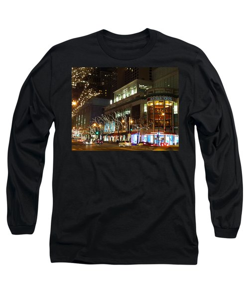 Michigan Avenue  Long Sleeve T-Shirt