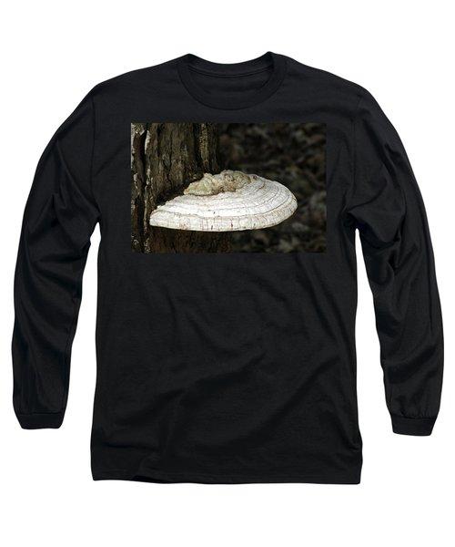 Long Sleeve T-Shirt featuring the photograph Michigantree Fungi by LeeAnn McLaneGoetz McLaneGoetzStudioLLCcom