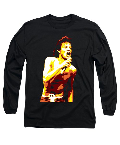 Mick Jagger Long Sleeve T-Shirt