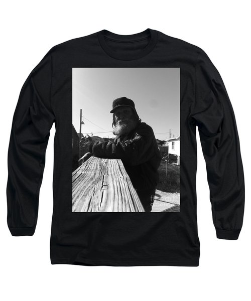 Mick Lives Across The Street Not In The Streets Long Sleeve T-Shirt by WaLdEmAr BoRrErO