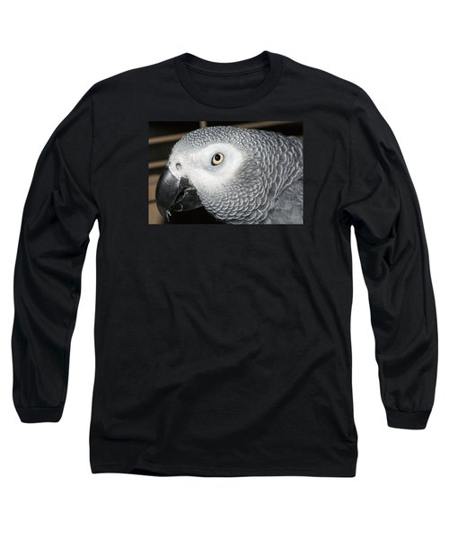 Mickie The Bird Long Sleeve T-Shirt by Kenneth Albin