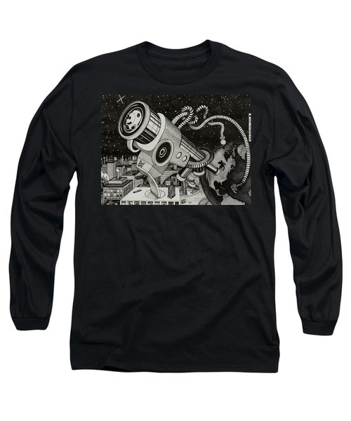 Microscope Or Telescope Long Sleeve T-Shirt