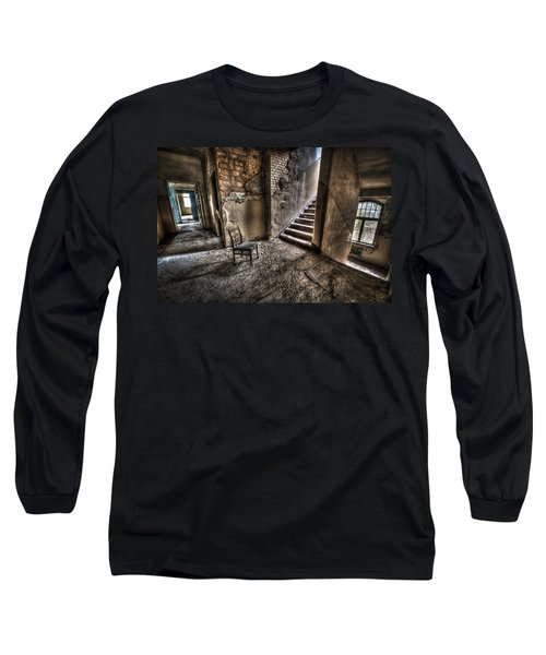 Middle Floor Seating Long Sleeve T-Shirt by Nathan Wright