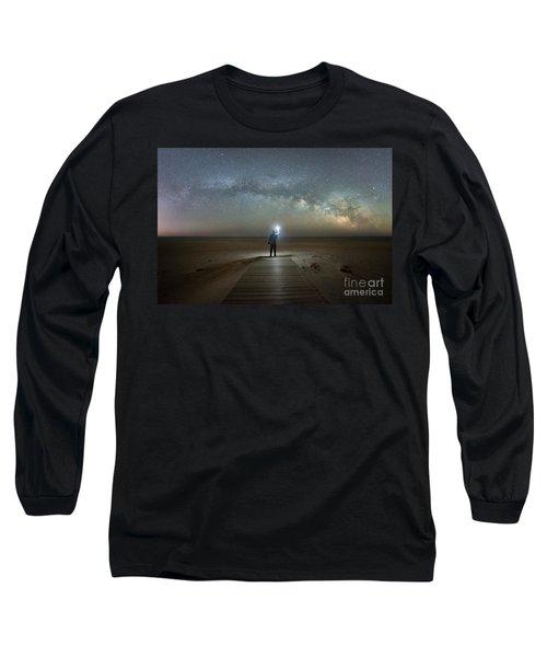 Midnight Explorer At Assateague Island Long Sleeve T-Shirt