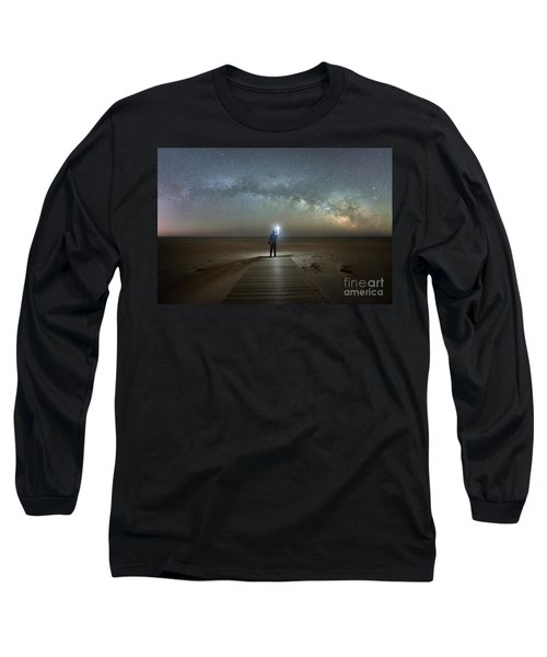 Midnight Explorer At Assateague Island Long Sleeve T-Shirt