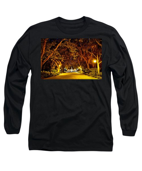 Midnight In The Garden Long Sleeve T-Shirt