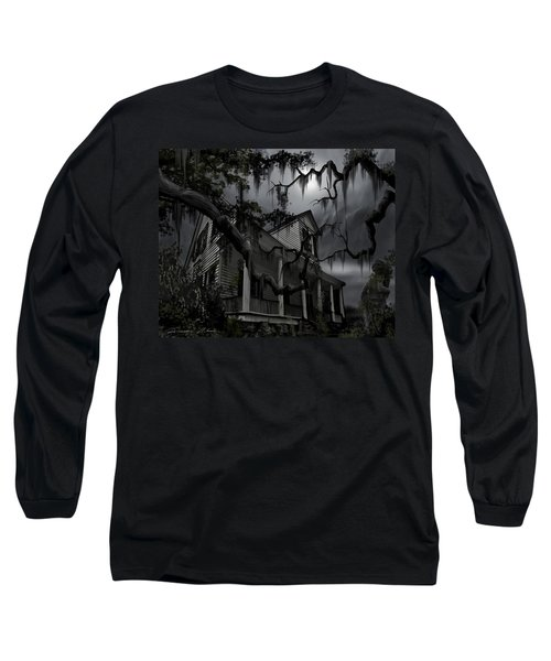 Midnight In The House Long Sleeve T-Shirt