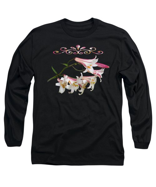 Midnight Radiance Long Sleeve T-Shirt