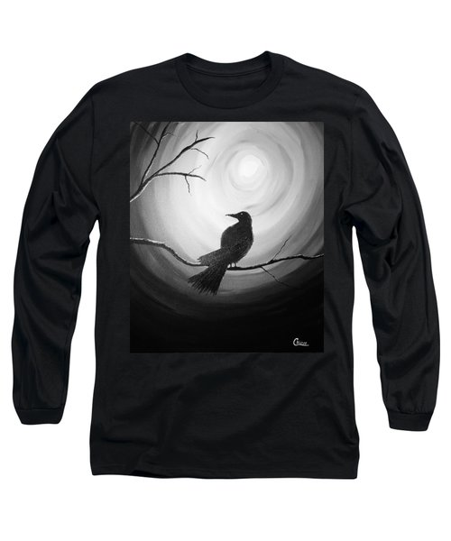 Midnight Raven Noir Long Sleeve T-Shirt