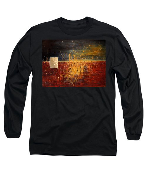 Midnight Summer, St Pete Beach  Long Sleeve T-Shirt by Theresa Marie Johnson
