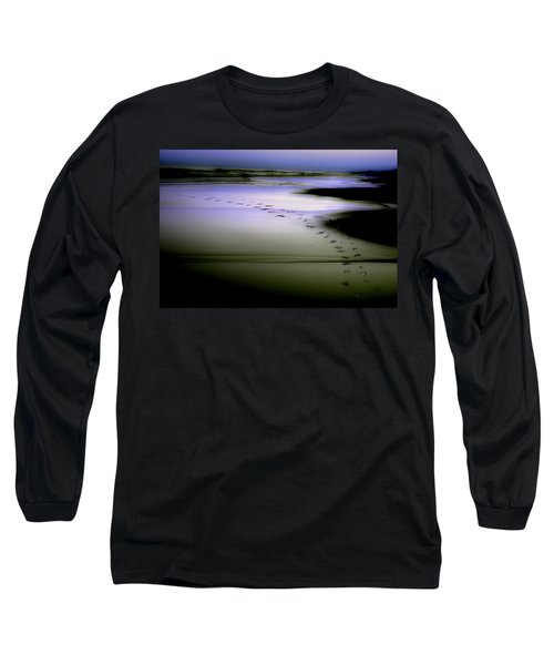 Long Sleeve T-Shirt featuring the photograph Midnight Swim by Gray  Artus