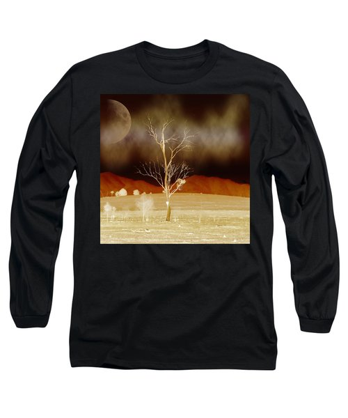 Midnight Vogue Long Sleeve T-Shirt by Holly Kempe
