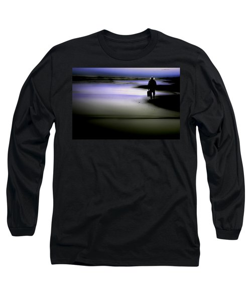 Long Sleeve T-Shirt featuring the photograph Midnight Wanderer by Gray  Artus