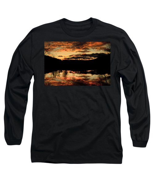 Midwinter Sunrise Long Sleeve T-Shirt