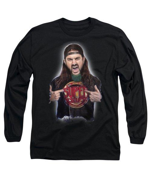 Mike Portnoy Long Sleeve T-Shirt by Melanie D