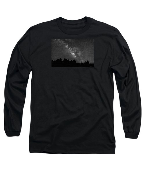Milky Way At The Windows Long Sleeve T-Shirt