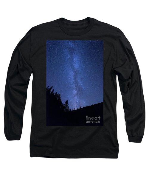 Milky Way Galaxy Long Sleeve T-Shirt
