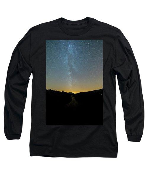 Milky Way Geres 1 Long Sleeve T-Shirt