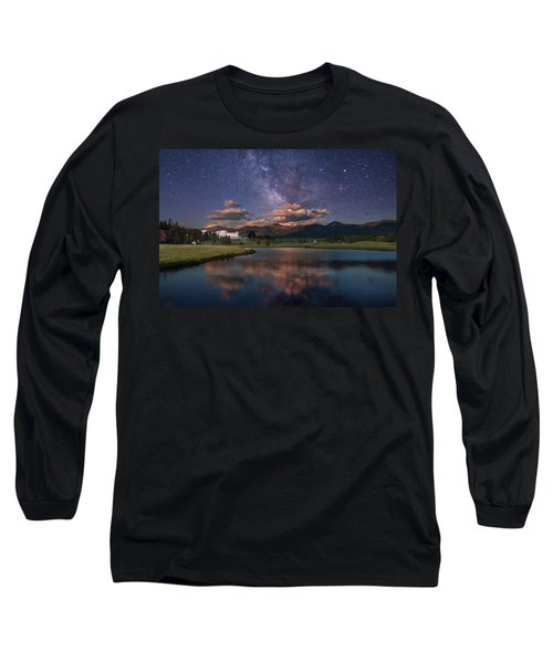 Milky Way Over The Omni Mount Washington Long Sleeve T-Shirt