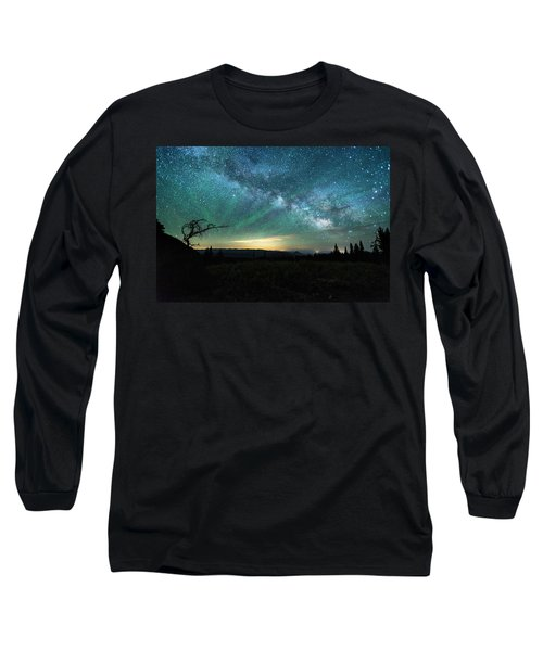Milky Way Rising Long Sleeve T-Shirt