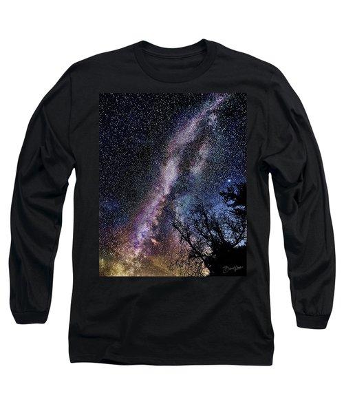 Milky Way Splendor Long Sleeve T-Shirt