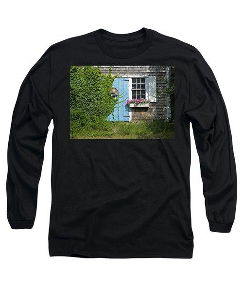 Millway Scene In Barnstable Long Sleeve T-Shirt