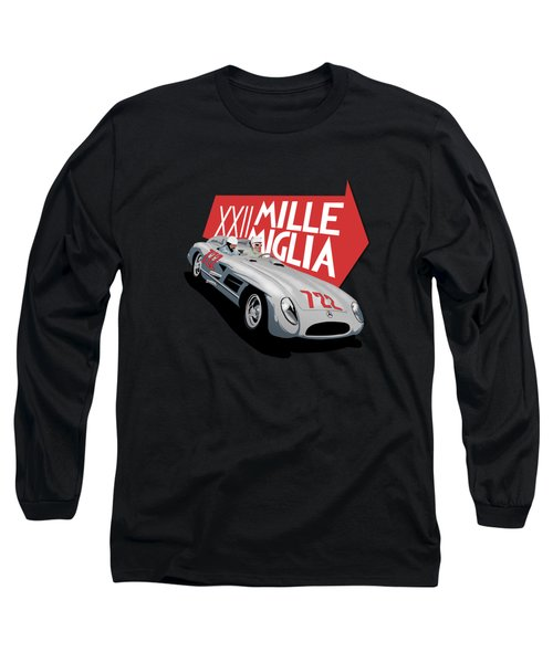 Mille Miglia Xxii 1955 Long Sleeve T-Shirt