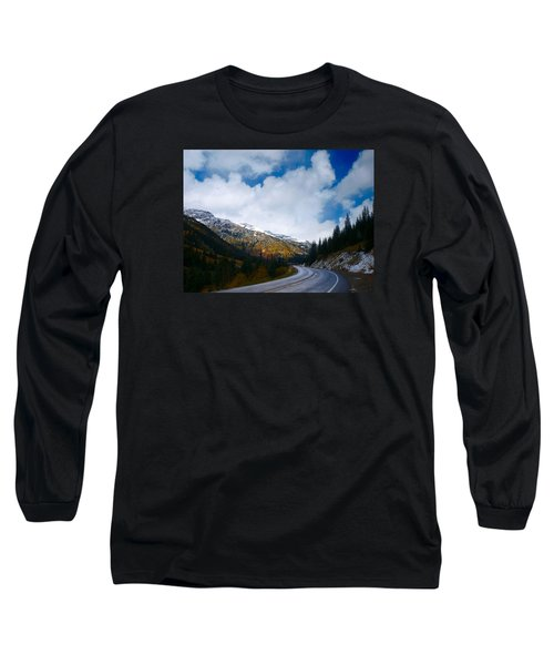 Long Sleeve T-Shirt featuring the photograph Million Dollar Highway by Laura Ragland