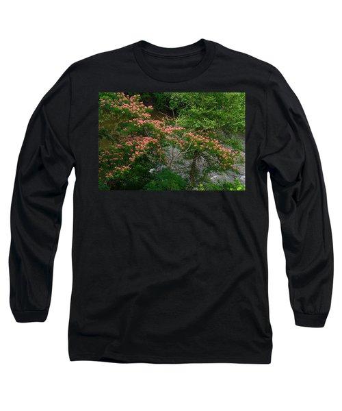 Mimosa On The Dan River Long Sleeve T-Shirt